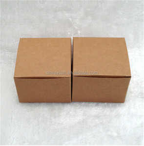 Brown Gift Packaging Kraft Paper Box,Brown Gift packaging boxes cube