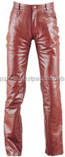 High quality mens leather pants Most Fashionable Men Leather Pants