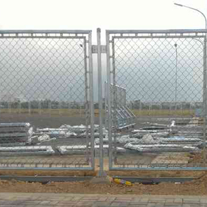 Low carbon iron 1 inch chain link fence for sport field