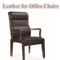 China Leather Factory with Reasonable Price OEM Office Leather Equipment Comfortable Leather Computer Chairs