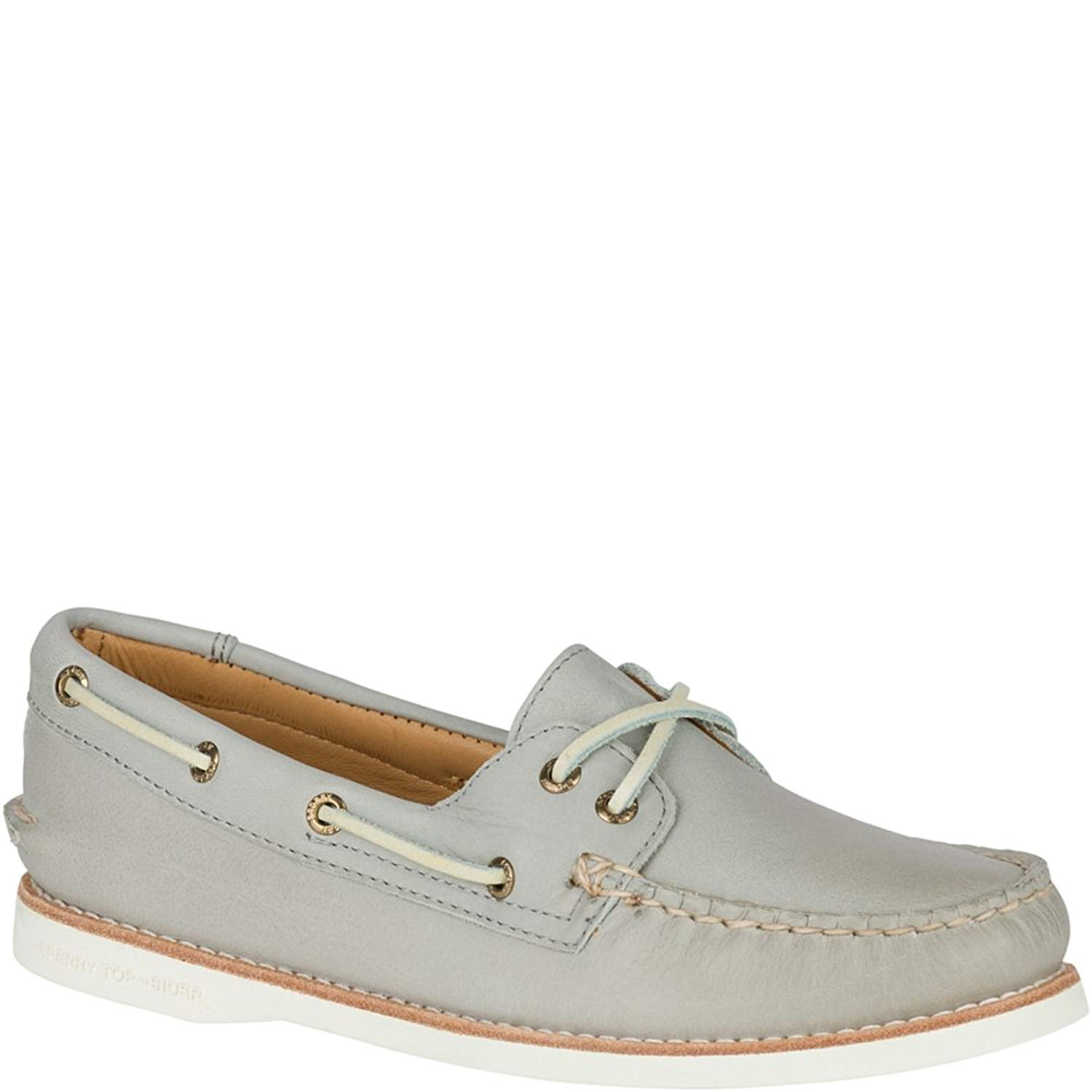 f015cdbb81 Get Quotations · Sperry Top-Sider Gold Cup Womens Light Grey Boat Shoes