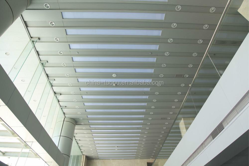 Factory Price Aluminum Transparent Ceiling Tiles Buy Aluminum