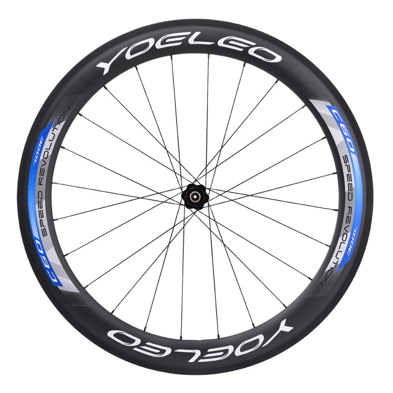2016 New Yoeleo 20 Inch 451 Carbon Clincher 38mm Wheels With ...