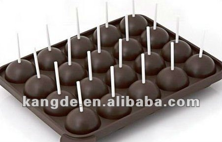 2 Super Cute Cake-Pop Silicone Mould Twin Sets