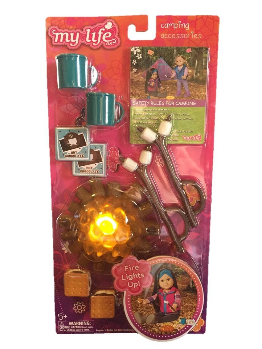 My Life Camping Accessories Set for Dolls