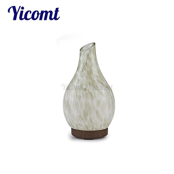 Glass Perfume Bottle Essential Oil Aroma Led Diffuser