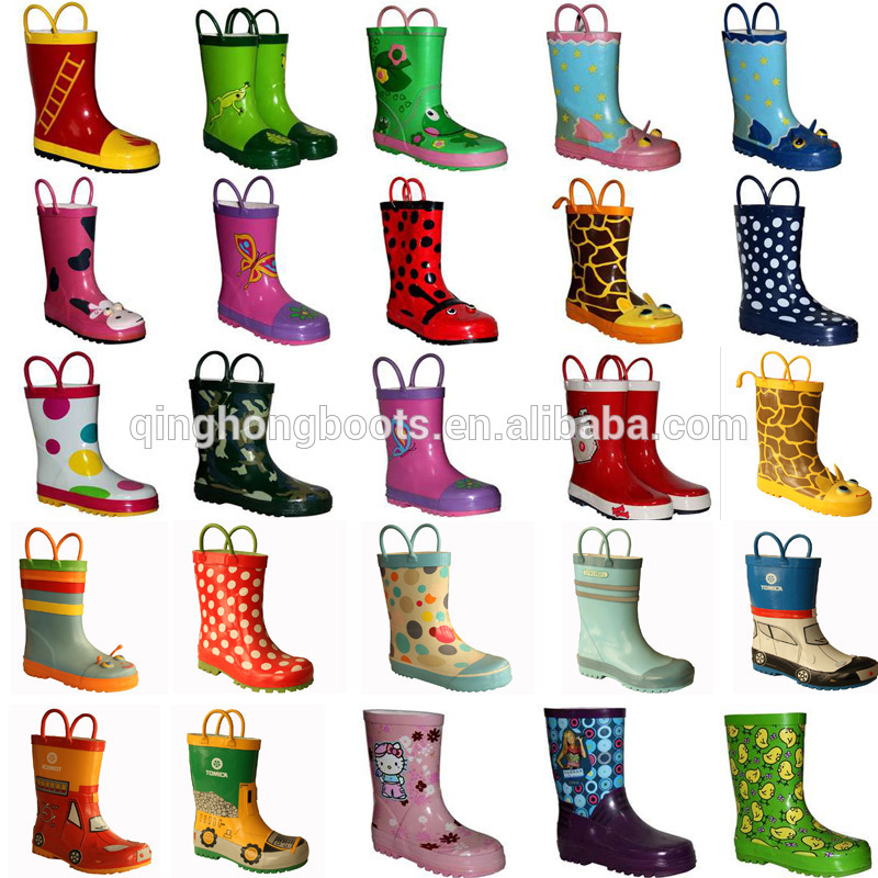 Cute Rain Boots For Juniors - Yu Boots