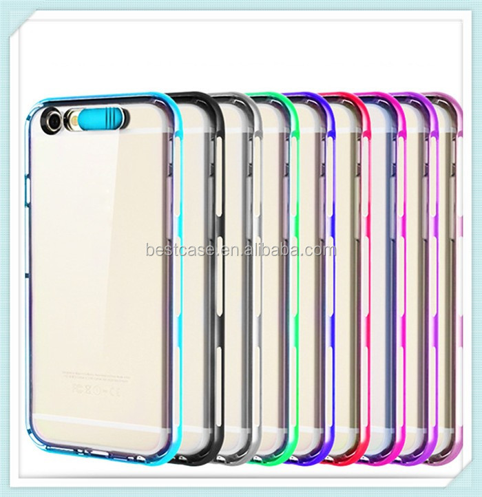 Pc+tpu Hybrid Light Up Flash Phone Case For Samsung Galaxy J3 Case For  Samsung J3 Pro Cover - Buy For Samsung Galaxy J3 Light Up Phone Case,For