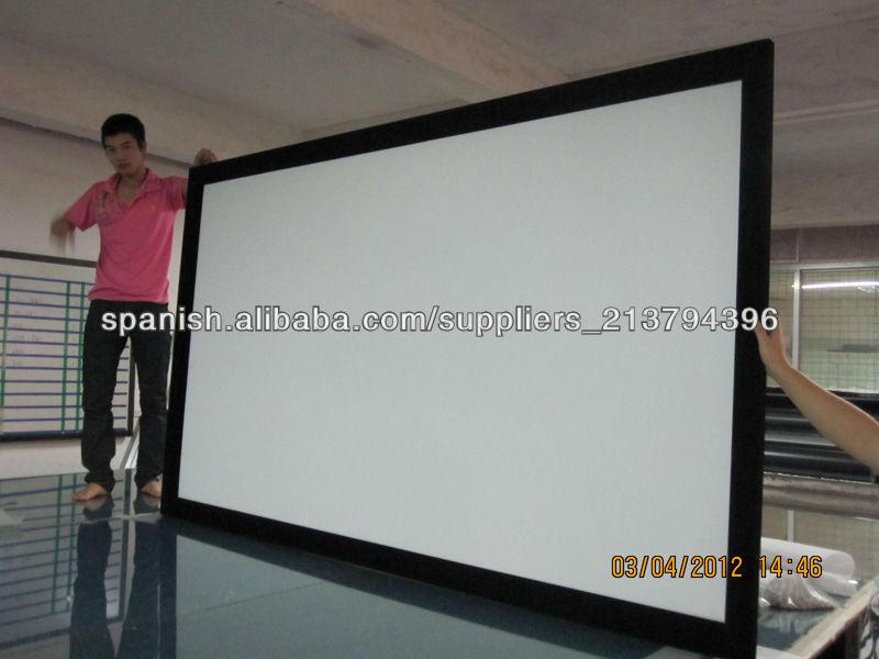 pantalla marco fijo/pantalla de cine fija/pantalla del marco ...