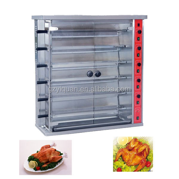 commercial kitchen equipment chicken rotisserie oven/gas chicken rotisserie
