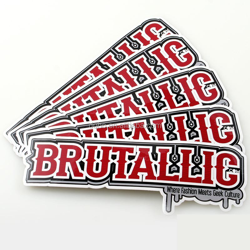 Colorful Custom Die Cut Stickers Decals And Custom Car Decals - Custom die cut stickers printing