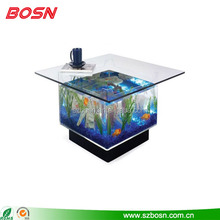 Woondecoratie transparante acryl vis <span class=keywords><strong>25</strong></span> gallon <span class=keywords><strong>aquarium</strong></span> tank en salontafel top