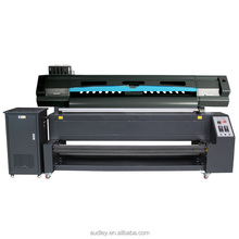 best 1.8m 2 pcs 5113 head sublimation polyester direct to textile printer