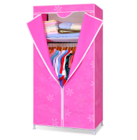 Mini wardrobe fitted wardrobe small wardrobe manufacturing ideas (FH-CM0508)