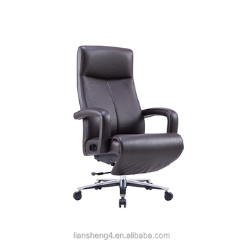 Leather Conference Chair Ergonomic Office With Footrest Whole Executive Folding Back
