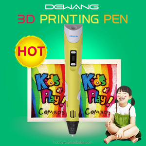 2016 3d pen Best kids birthday gift Compatible 1.75mm ABS Filaments 3D Stereo Drawing Pen