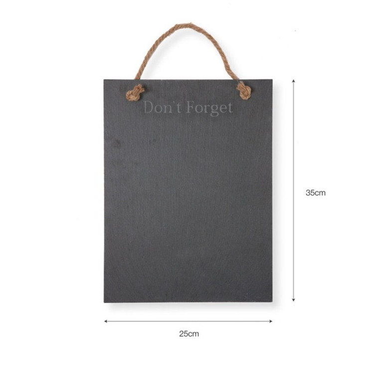 Chinese Factory Direct Slate Home Decoration School Blackboard Price