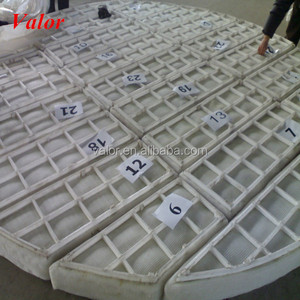 NO.1 choice PP vapor liquid separator/pp wire mesh demister pad (Really Factory)