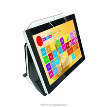 Restaurant ordering machine touch screen terminal pos all in one with Customer Display