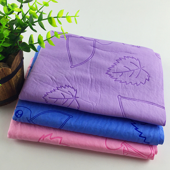 Customized printed super water absorbent eco friendly PVA cooling chamois towel for sports