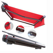 New arrival 2016 best selling motor control patio folding retractable awnings