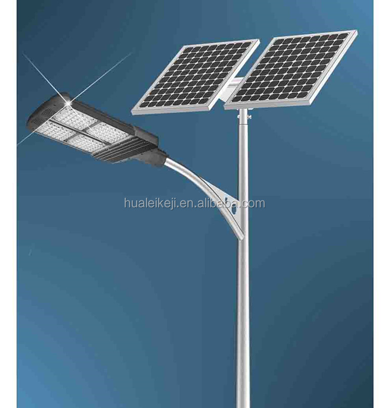 Liang Figure 10m Galvanized Solar Energy Street Light Pole
