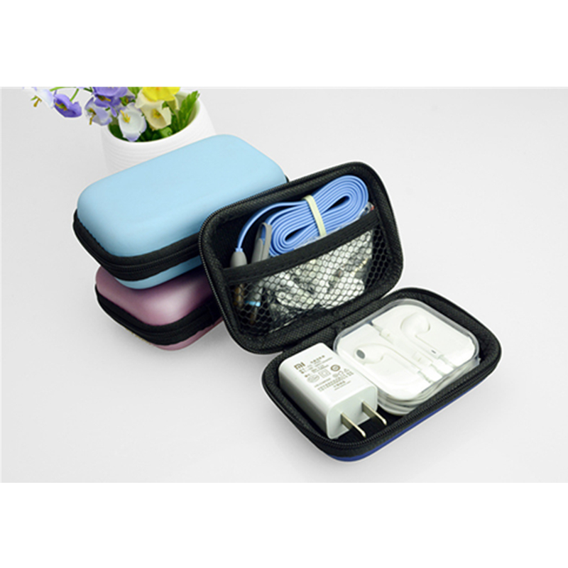 Hot Selling Earphone Cable Eva Gadget Storage Case Bags Shell Box