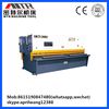 QC12K-6*3200 hydraulic metal cutting CNC plate shearing industrial machine In stock