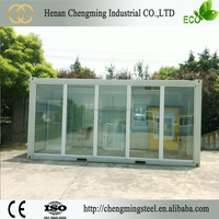 corrosion proof commercial economical modular container homes pre fab metal building