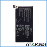 High Capacity Rechargeable Mobile Phone Li-ion Battery C11-ME370TG For Asus Tab For Google Nexus 7 2012 Version