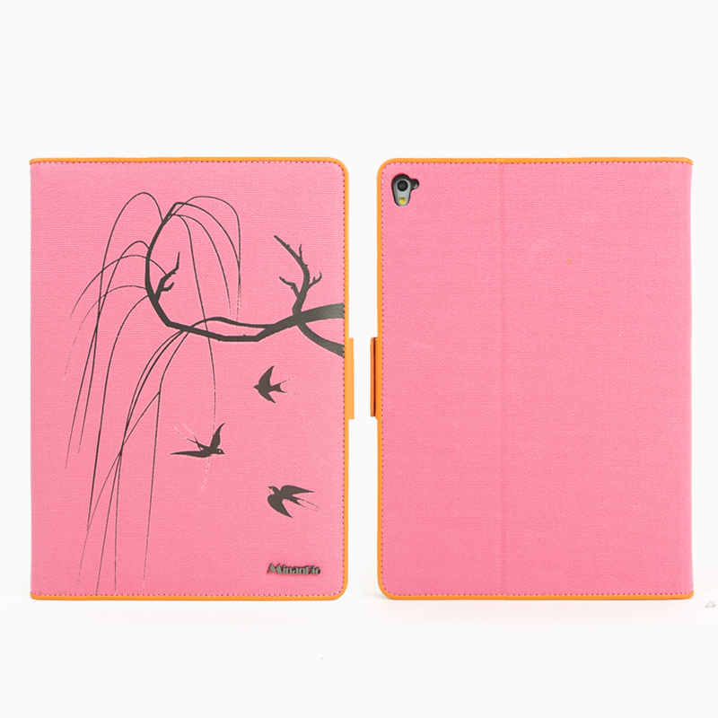 Guangzhou factory tablet accessories PU leather + PC hard case with sleep-wake function for ipad 7.9 inch