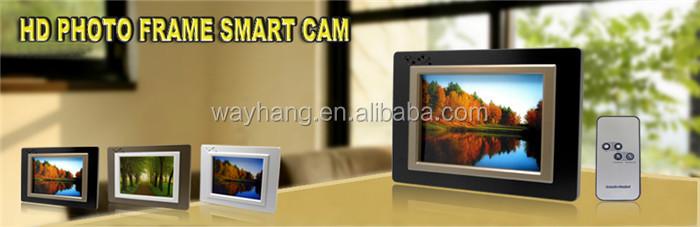 720p Hd Photo Frame Hidden Cameramini Hidden Photo Frame Camera