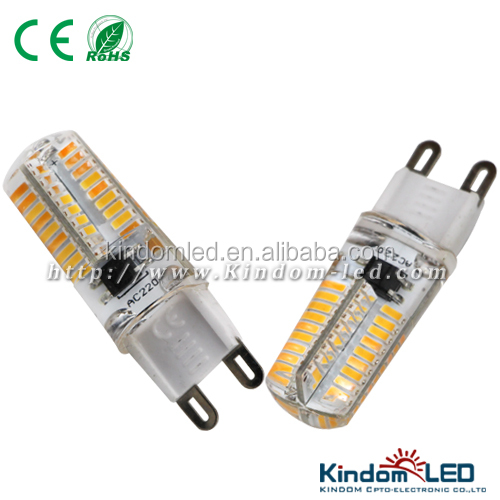 New arrival 12V 2.8W G9 LED bulb, colored G9 halogen bulbs for indoor lighting