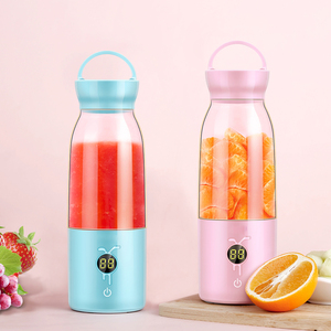 Personal USB Rechargeable Cup Portable Blender Juice Processor Fruit Mixing Machine For Shakes and Smoothies Travel 480ml