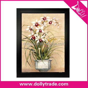 Wholesale famous flower oil painting white orchid flower painting wholesale famous flower oil painting white orchid flower painting art on canvas mightylinksfo