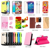 Hard Leather Case Cover Shell for Samsung-AB