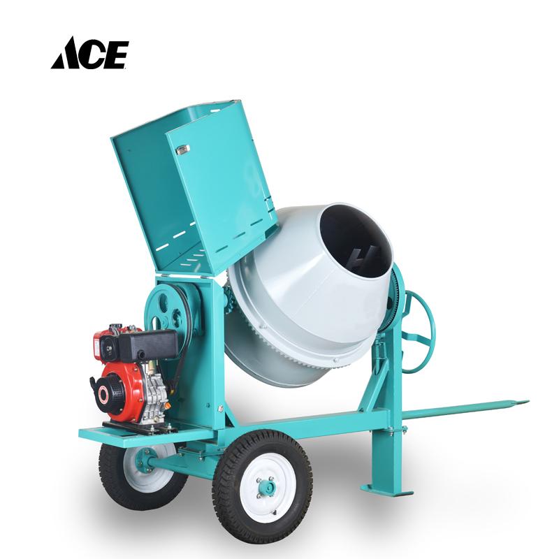 350L motor Diesel universal mezclador de concreto de la Fábrica de la máquina de