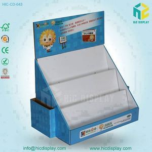 HIC Carton Cardboard Counter Display Box