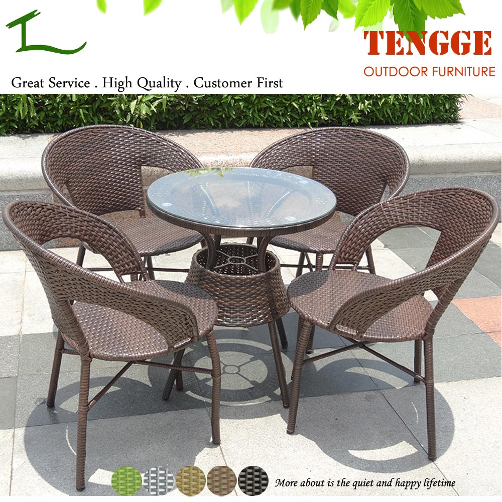 tg15 0182 5 pieces outdoor rattan cheap cafe tables and chairs buy cheap cafe tables and. Black Bedroom Furniture Sets. Home Design Ideas