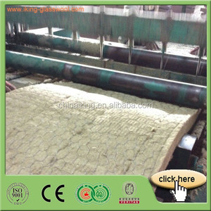 China Iking 100mm thick rock wool insulation price