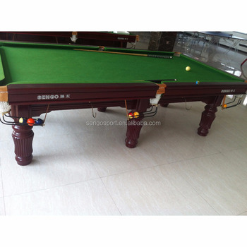 Promotional Top Quality Russian Pyramid Billiard Table Pool Table - Classic billiard table