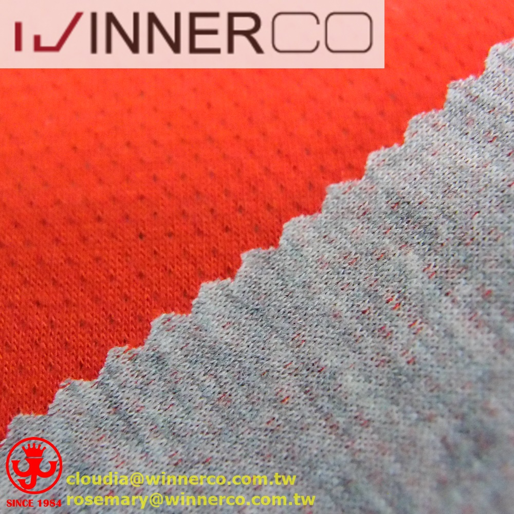 3d spacer jacquard cotton textile fabric in 2 sides fabric