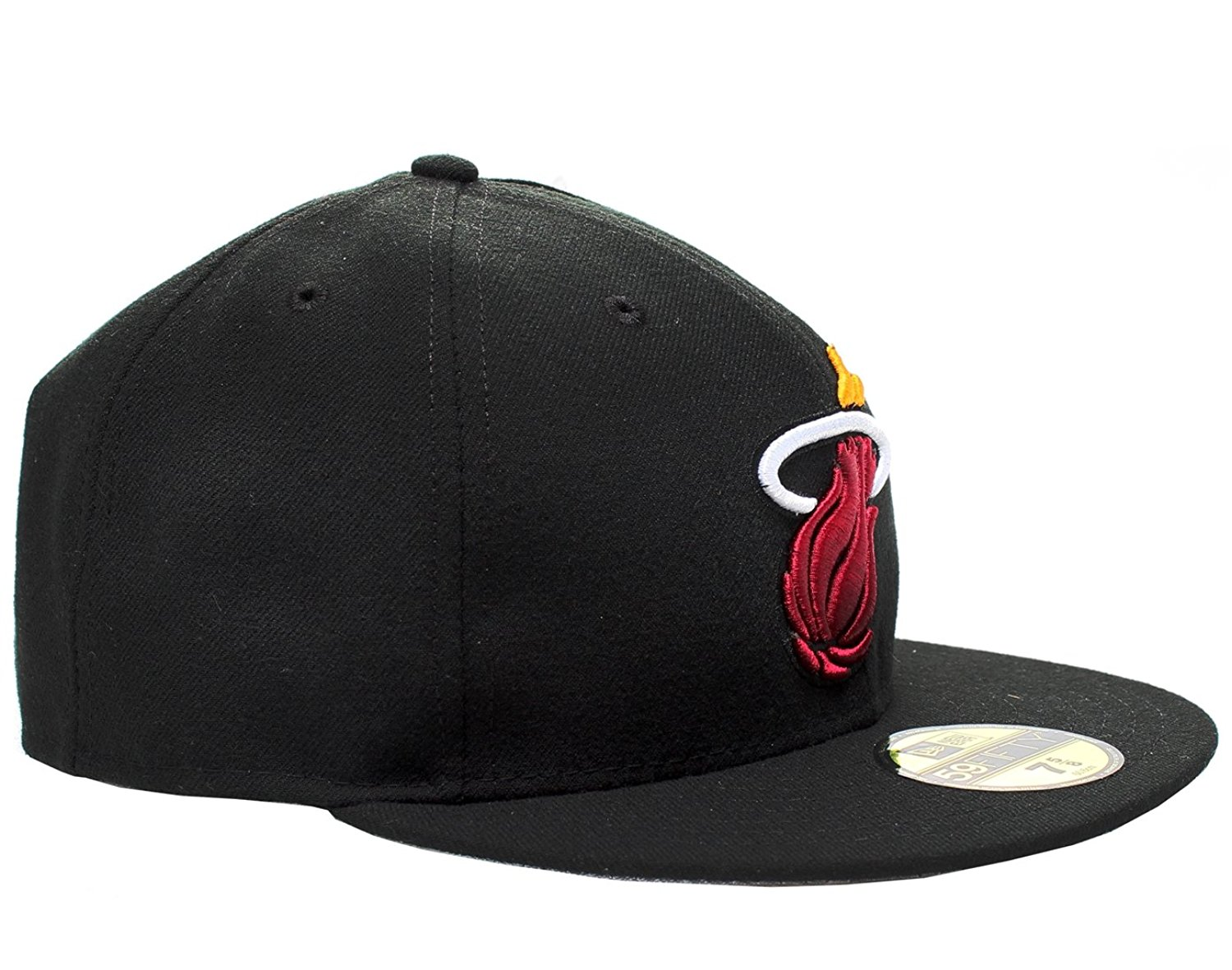 huge discount 6b9b1 667f5 Get Quotations · Miami Heat 5950 HWC 2013 Playoffs Black Fitted Hat