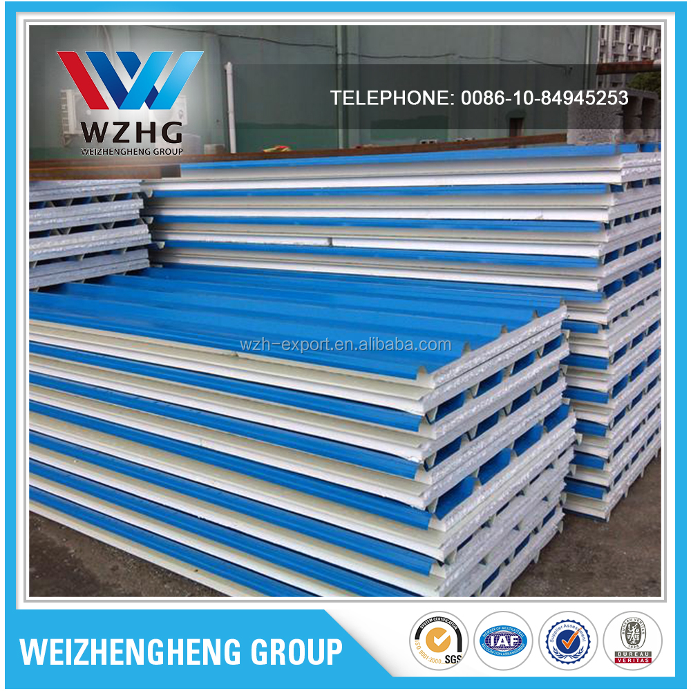 Factory Price aluminum insulated house prefabricated sandwich panel