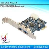 Wholesale 4 Port Usb 3.0 To Pci Express I / O Card