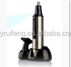 High Quality Stainless steel Ear Hair Groomer Nose Hair Trimmer With Base dingling hair trimmer