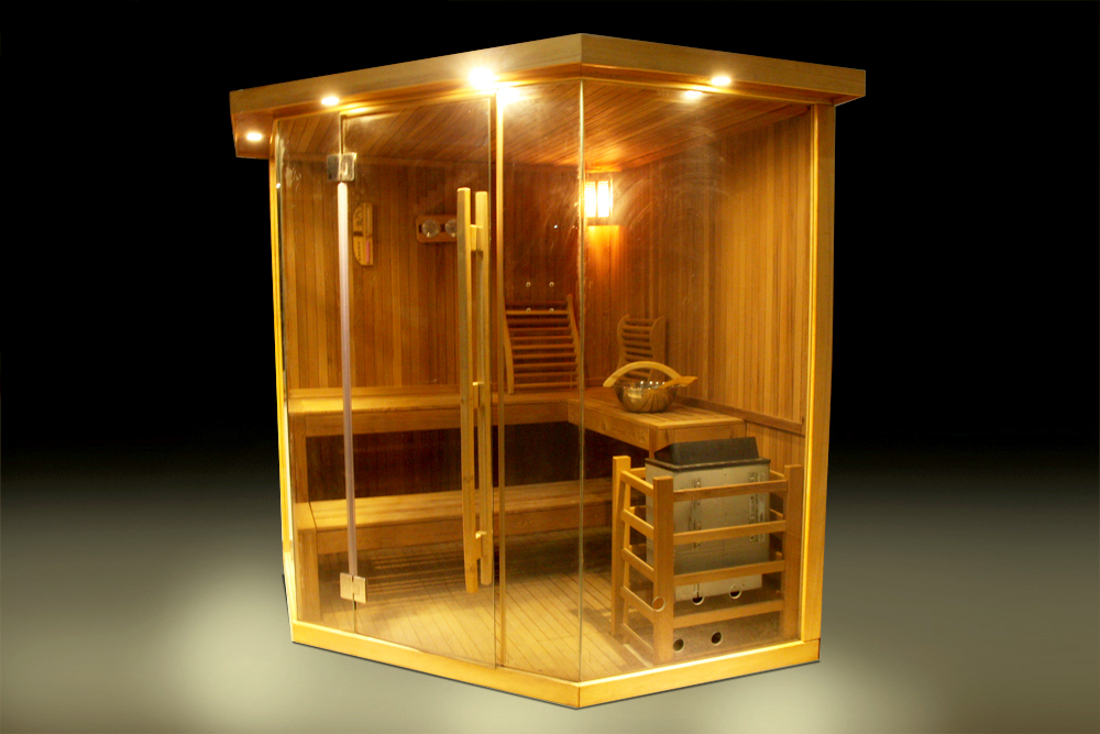 Outdoor 6 Persons Dry Sauna Steam Room