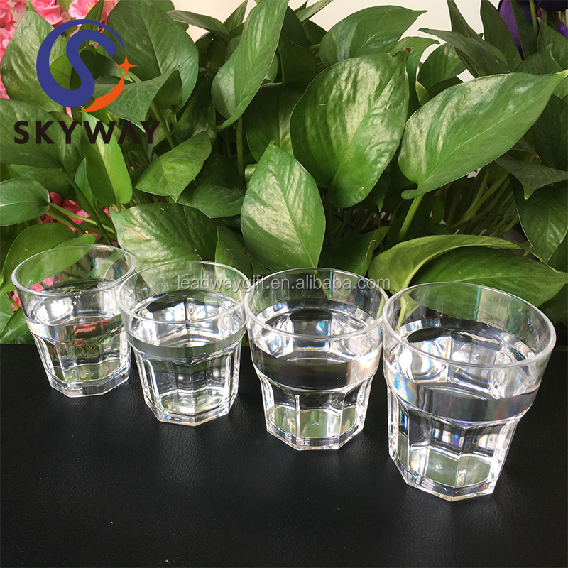 250ML PC Clear Plastic Custom Logo Beer Cup for Sale