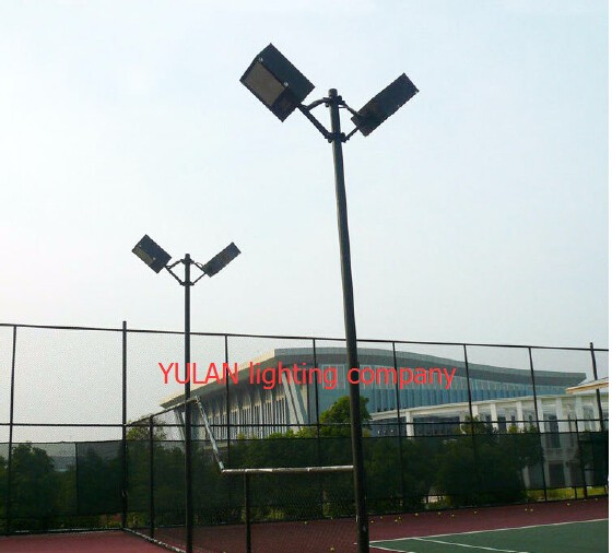 Standard Parking Lot Light Pole Height: Square Steel Street Lamp Post/park Lighting Pole