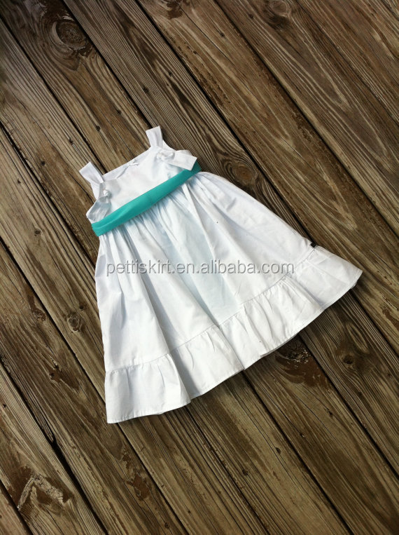 2015 New Style Cute Little Sleeveless Baby Girl Party Dress Kids ...